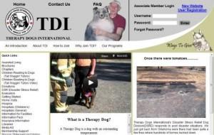 TDI's homepage